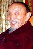 Picture of H.E. Chogye Trichen Rinpoche at March 13, 2000