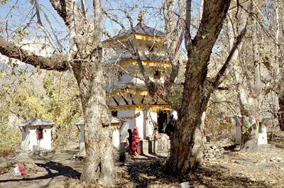 Shiva Parvati Temple at Muktinath
