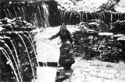 Picture of Chumig Gyatsa at Muktinath in 1956