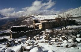 Sangdo Gompa in 1980, Frank Ossen, Holland