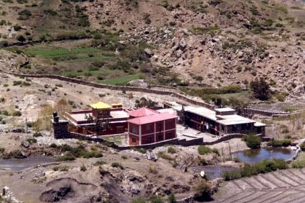 Tharpa Choeling Nunnery in Muktinath