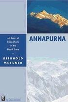 Cover of the book 'Annapurna, 50 Years of Expeditions in the Death Zone'