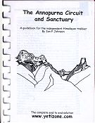 Cover of the book 'The Annapurna Circuit and Sanctuary'